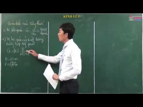 Bài giảng vật lý 11 - Chương 7. Mắt và các dụng cụ quang học - Bài. Kính lúp