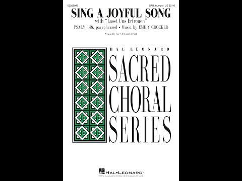 SING A JOYFUL SONG (SAB) - Emily Crocker
