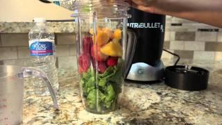How To Make Mango Strawberry Green Smoothie
