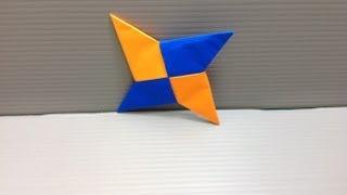 Daily Origami: 066 - Shuriken Ninja Star