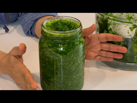 Afghan Coriander Chutney Recipe: Delicious Cilantro Sauce for Everything.