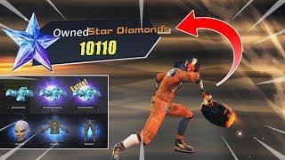 Spending 10,000+ Star Diamonds in ROS Update! (Rules Of Survival: Battle Royal)
