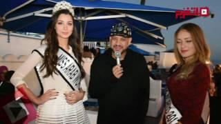 اتفرج| ماذا فعل عصام كاريكا مع ملكات الجمال في تونس؟