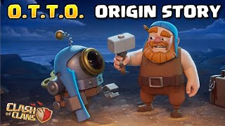 The O.T.T.O. Bot Origin Story! | Master Builder Story part 2 - Clash of Clans Theory/Backstory CoC
