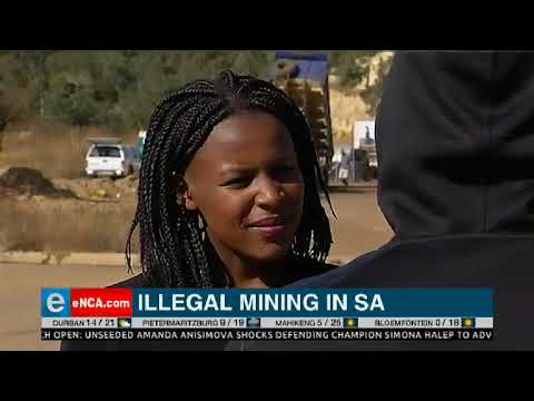 Illegal Mining In South Africa