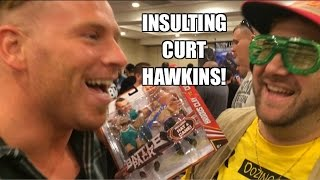 WWE ACTION INSIDER: Curt Hawkins Shoots on Mattel Wrestling Figure BattlePack Inter-Review!