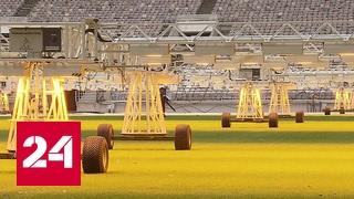 Высокотехнологичный стадион: первый матч в обновленных