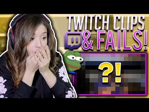 POKI REACTS TO TWITCH CLIPS & STREAM FAILS!