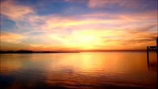 Beautiful Sunset 7 With Relaxing Waves (HD)