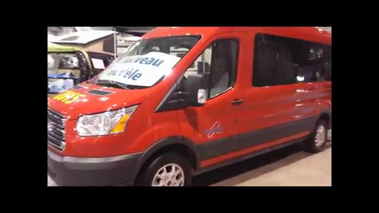 Ford Transit 2015 / New-West Liberté / Class B Van / Quebec R V  Show