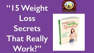 15 Weight Loss Secrets That Really Work! JOAN DIET BARS