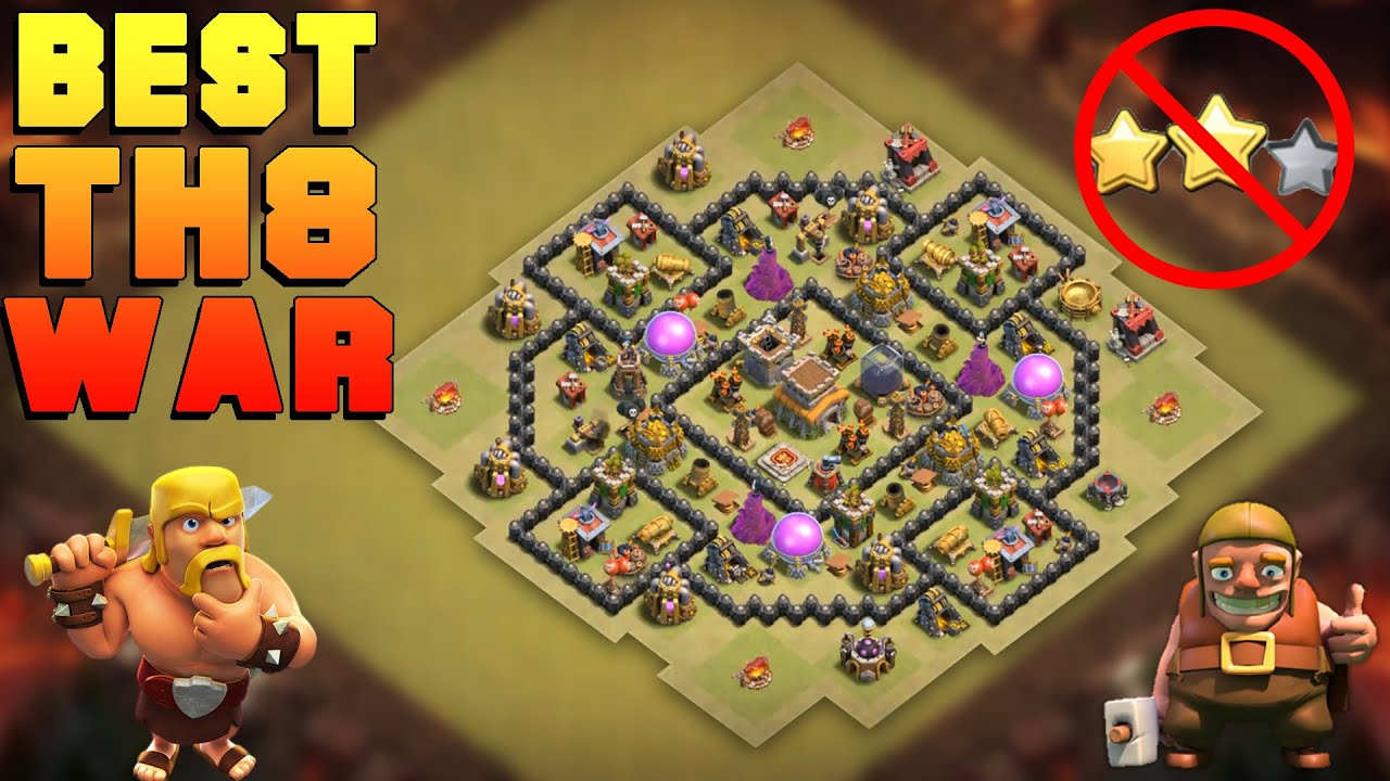 Base War Coc Th 8 Terkuat 2019 8