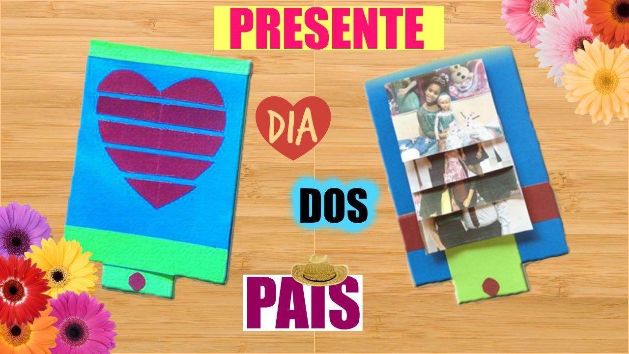 Muito DIY/Faça você mesma: PRESENTE PARA O DIA DOS PAIS/NATAL - YouTube BH95