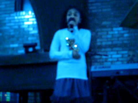 Eden Sanaa DuncanSmith Singing Shadowland At St. Paul