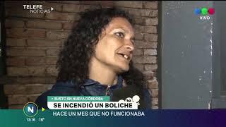 Se incendió un boliche en Güemes, hace un mes no funcionaba