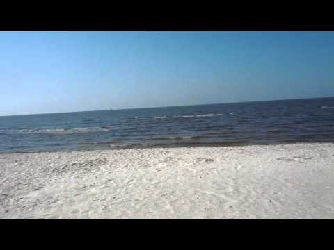 A little tour of the beach in Biloxi, MS (04/2012)