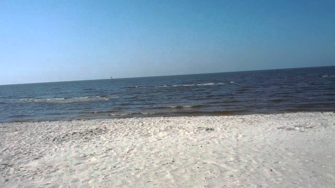 A Little Tour Of The Beach In Biloxi Ms 04 2012 Youtube