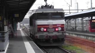 BB 15010 HLP en gare de Caen