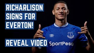 RICHARLISON SIGNS FOR EVERTON! | REVEAL VIDEO