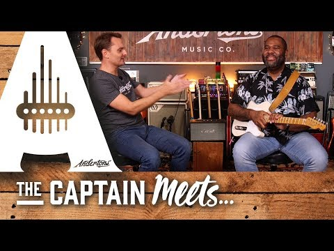 """The Captain Meets Kirk Fletcher To Chat About His New Album """"Hold On"""""""