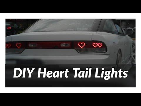 DIY 240sx Heart Tail Light (basic)