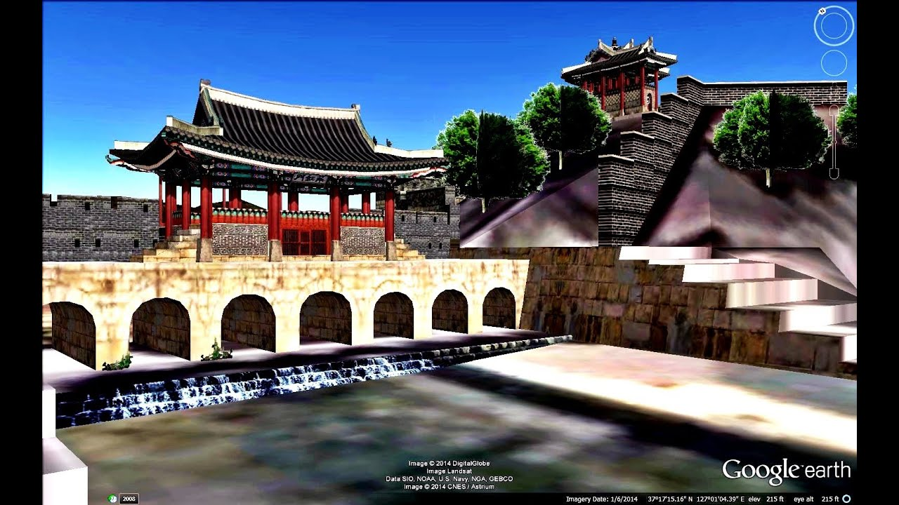Historical Places Of South Korea In Google Earth Part Three 3 3 Youtube