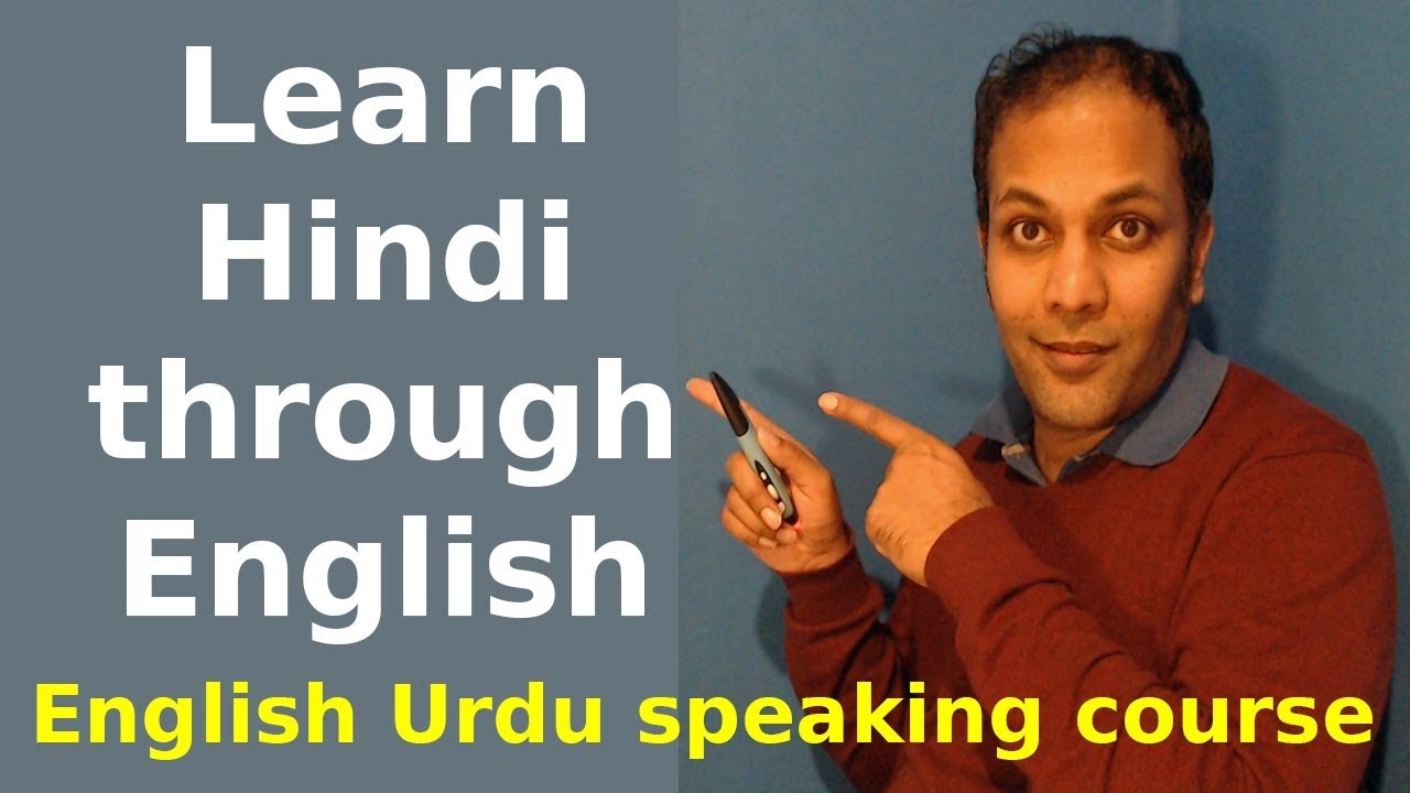 Learn & speak Hindi online through English for free in 30 ...