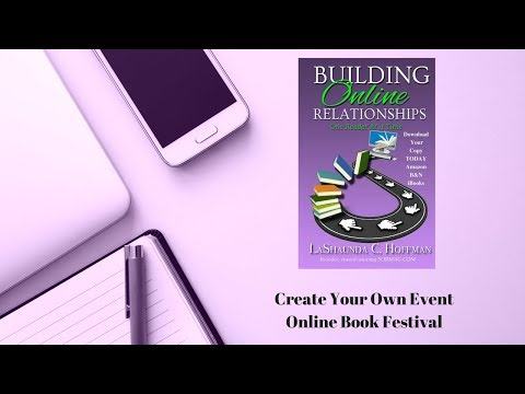 Create Your Own Event - Online Book Festival