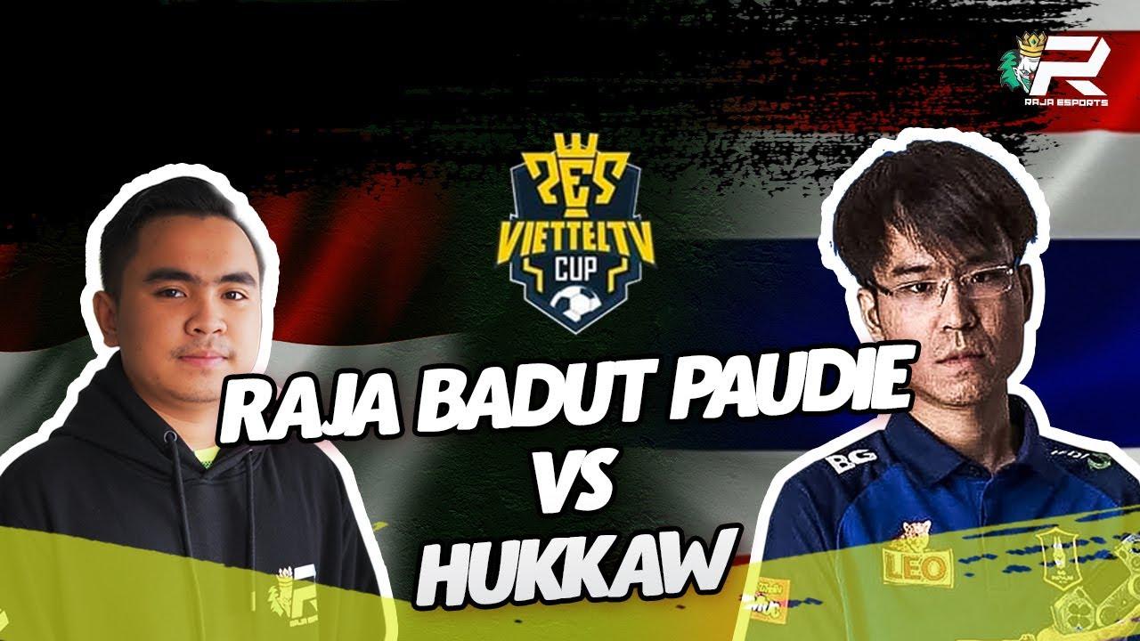 WEEK of PES! VIETTEL TV CUP! RAJA BADUT PAUDIE VS HUKKAW FROM THAILAND HIGHLIGHT GOAL