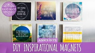 DIY Inspirational Magnets - HGTV Handmade