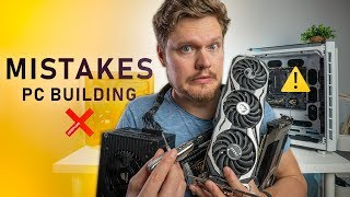 DON'T Do This When Building a PC! Our Common Mistakes 🤦‍♂️ Video