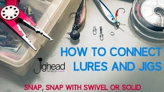 How to connect lures, jigs and soft bait - snap, swivel or solid ring (TN knot) screenshot 2