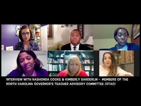 Tar Heel Teachers At Home - Interview With Members From The NC Governor's Teacher Advisory Committee