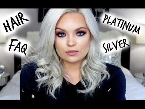 Silver Hair FAQ, Routine & Product Reviews!!