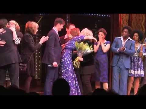 Carole King visits the London production of Beautiful – The Carole King Musical