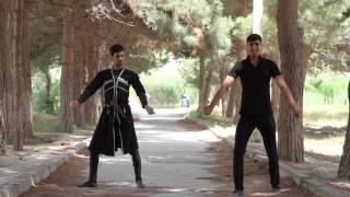Dikiy Kavkazdan Lezginka Video Derslik-Урок лезгинки от Дикого Кавказа (6) 2016
