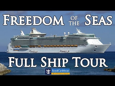 NEW!  FREEDOM OF THE SEAS' ULTIMATE HD VIDEO TOUR. Full ship review. Enjoy  :-)