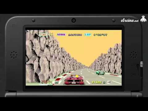 Análisis 3D Outrun - N3DS