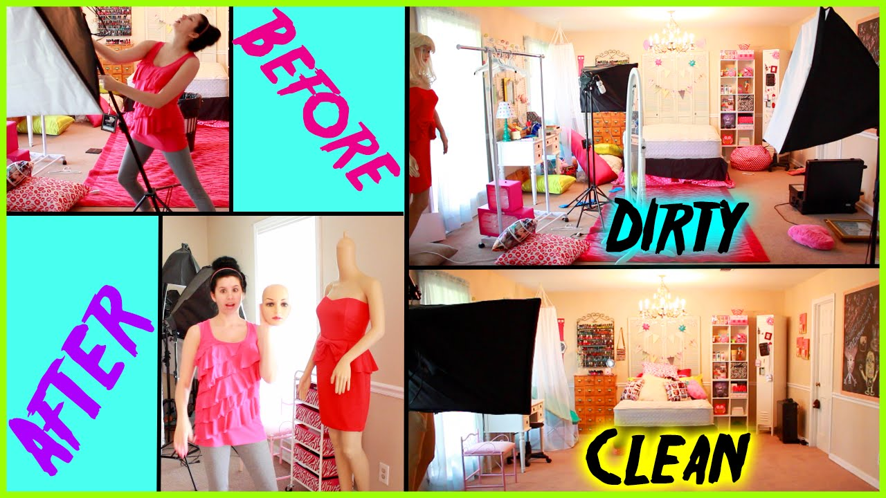 how to clean your room before after spring cleaning