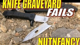 Knife Grave Yard Fails: You Won't Believe Our Results