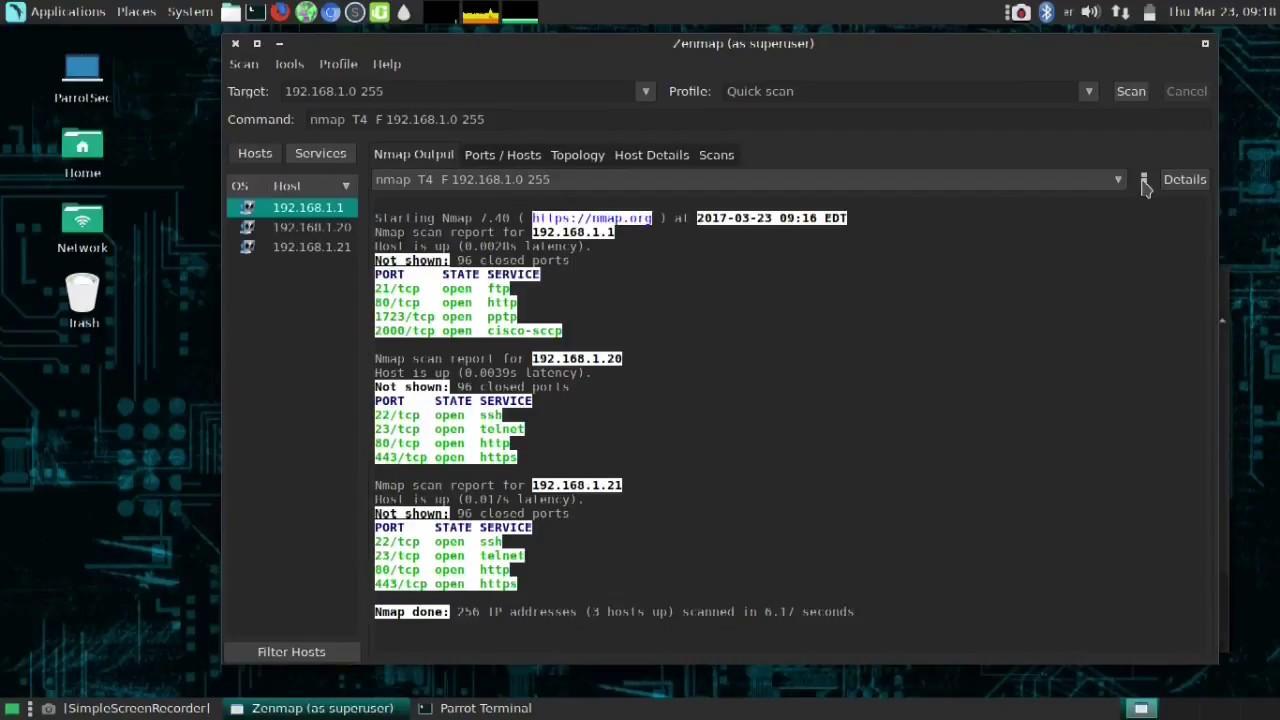 Windows command prompt nmap - Zenmap Tutorial For Beginners