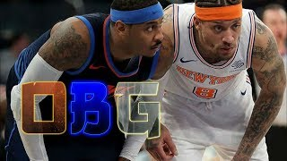 Knicks Full Game Highlights vs OKC (12/16/17) Beasley Outduels Melo!