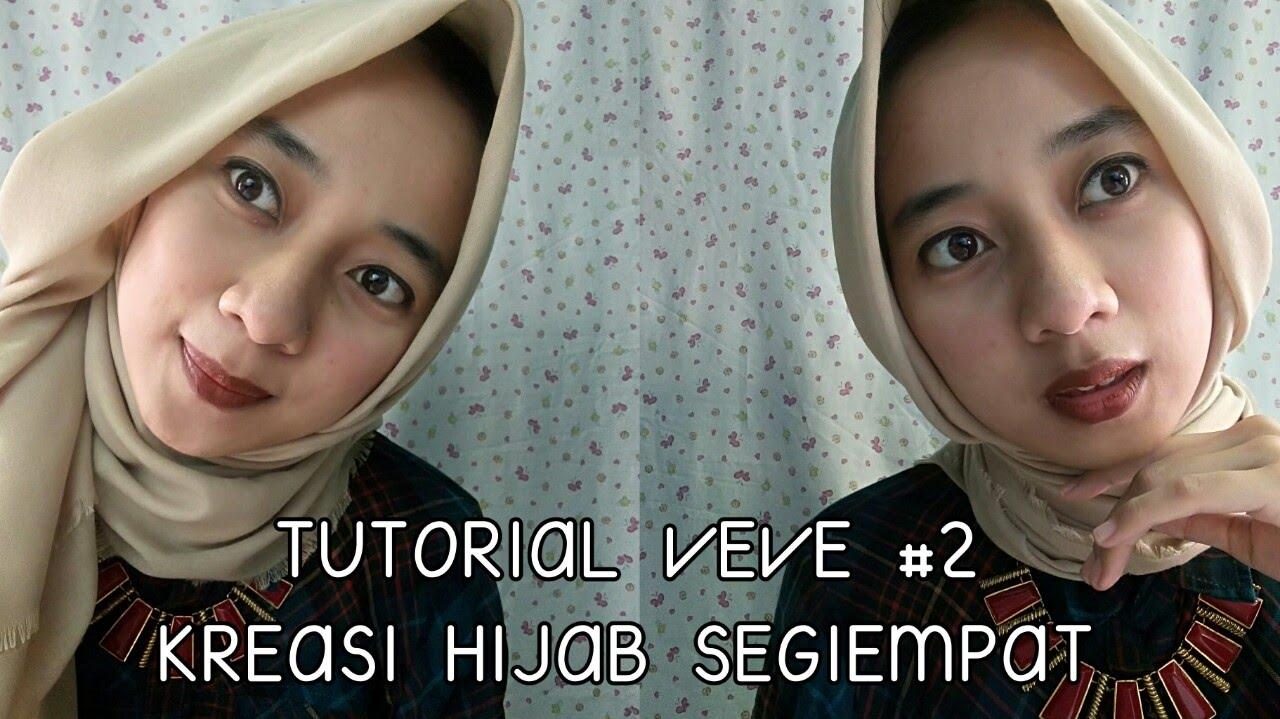 TUTORIAL SIMPLE HIJAB SEGIEMPAT 2 3Styles In 1 Square Hijab