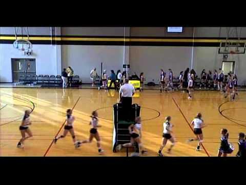 St. Teresa's Academy vs. Notre Dame de Sion high school volleyball 9.7.11