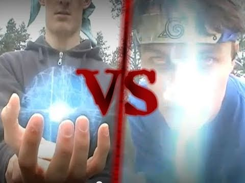 Chidori VS Rasengan - Ultimate Version - REAL LIFE Naruto