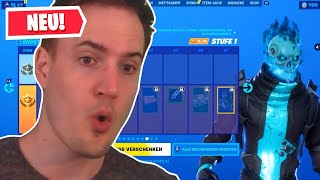 Fortnite Season X BATTLE PASS 😱 Season 10 Fortnite Battle Royale | Reaction Reaction German