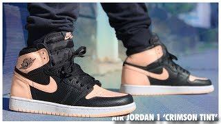 Air Jordan 1 High OG 'Crimson Tint'