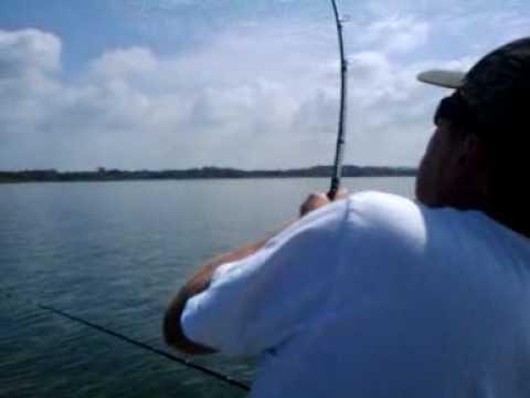 Lake lavon cat fishing youtube for Lake lavon fishing