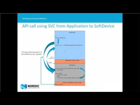 Webcast: Interfacing with Nordic SoftDevices
