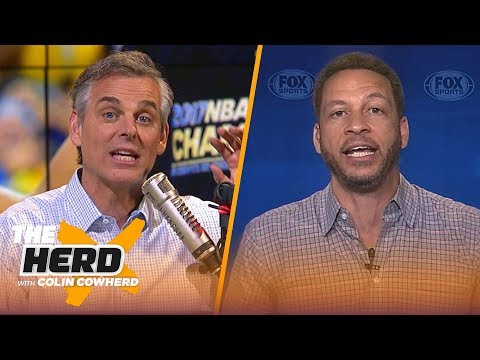 Chris Broussard talks Warriors title, Butler's outburst, and LeBron's preseason | NBA | THE HERD